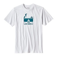 Men's Live Simply® Hot Tub Organic Cotton/Poly Responsibili-Tee