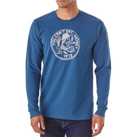 Men's Long-Sleeved Can't Eat Money Organic Cotton/Poly Responsibili-Tee