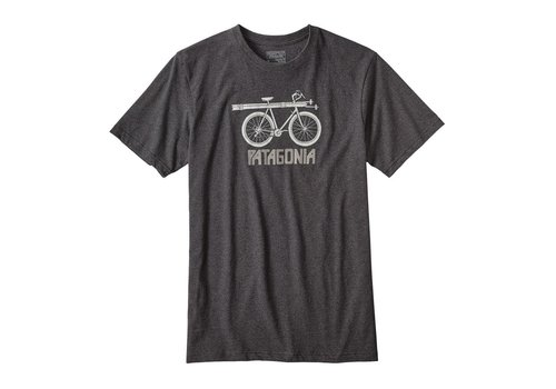 Patagonia Snow Cycle Cotton/Poly Responsibili-Tee