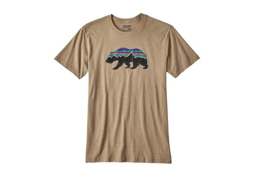 Patagonia Fitz Roy Bear Cotton/Poly T-Shirt