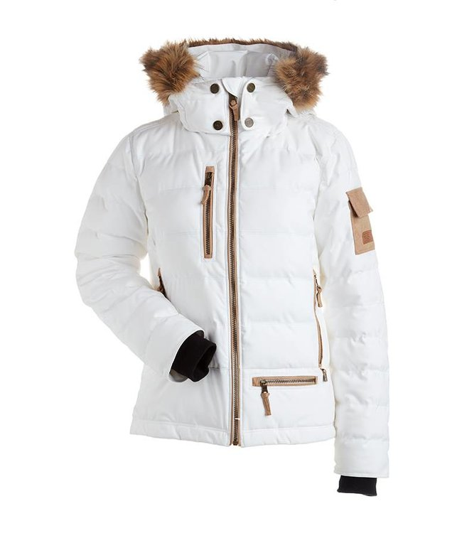 Nils Akasha Faux Fur W's  Jacket - Raccoon