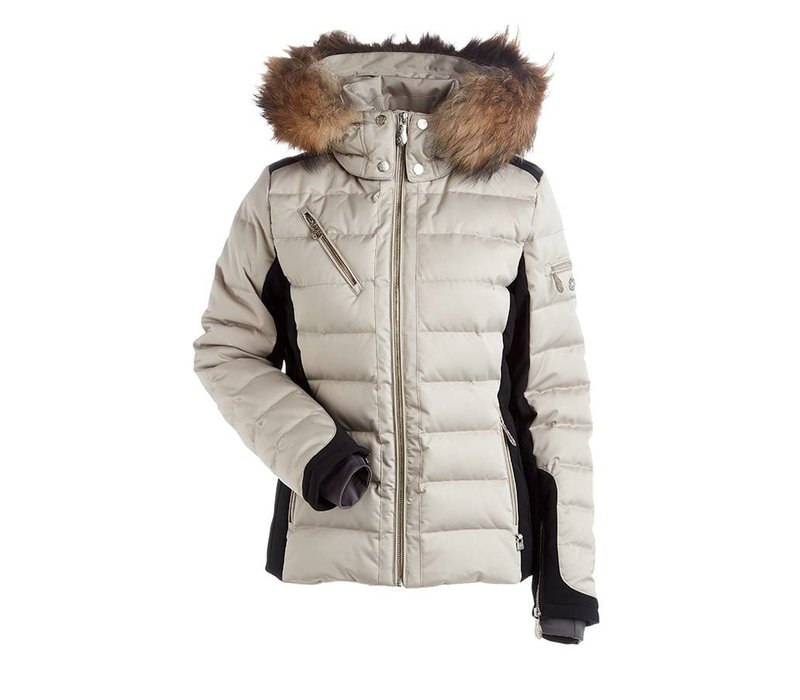 Ula Real Fur Women's Insulated Snow Jacket