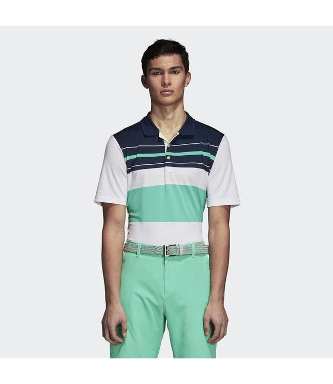 Adidas Ultimate 365 Engineered Block Polo Shirt