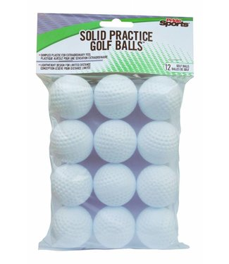 Pride Sports Solid Practice Golf Balls