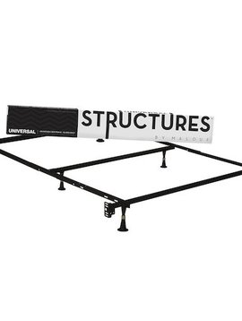 Malouf STRUCTURES™ UNIVERSAL BEDFRAME W/ GLIDES