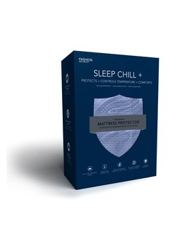 Legget & Platt Sleep Chill + Blue Crystal Gel Matt Protector -