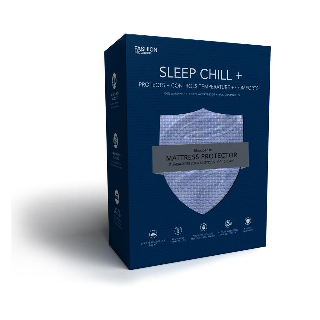 Legget & Platt Sleep Chill + Blue Crystal Gel Matt Protector -