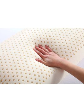 PURE BLISS LATEX TALALAY GLOBAL COMPRESSED PILLOW MADE IN USA