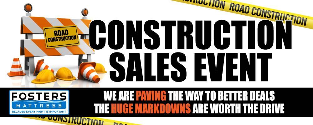 Construction Sale