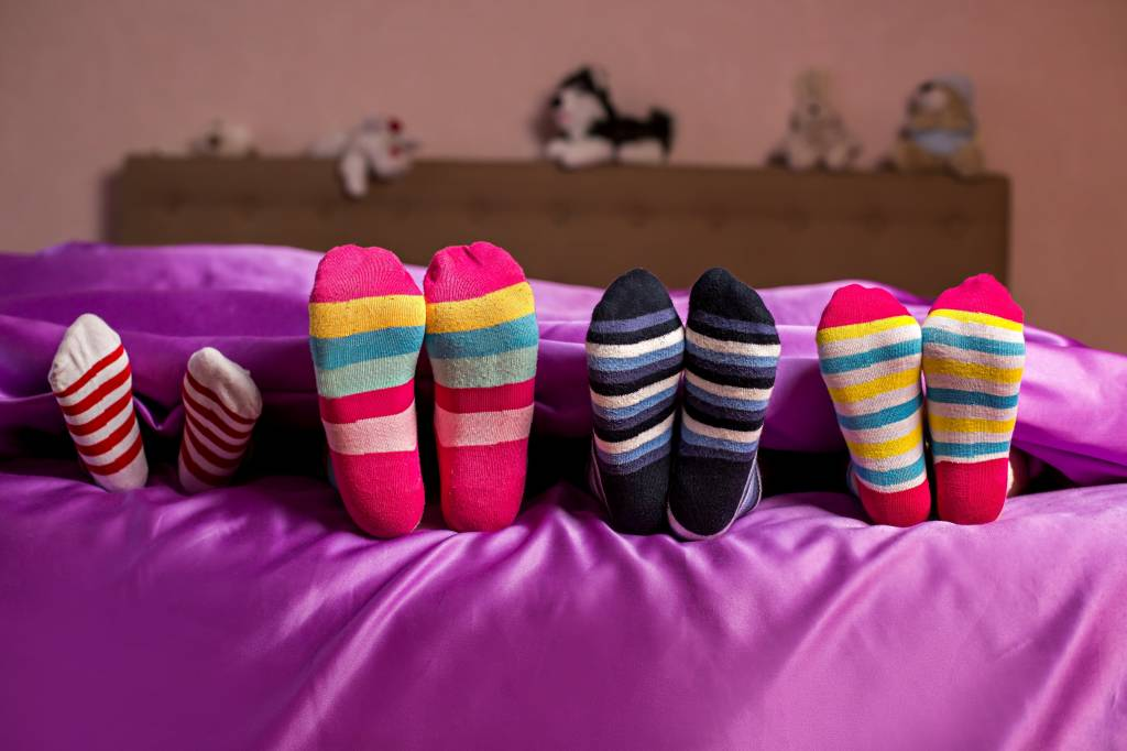 Socks On or Socks Off? Your Body Temperature May Be Affecting Your Sleep