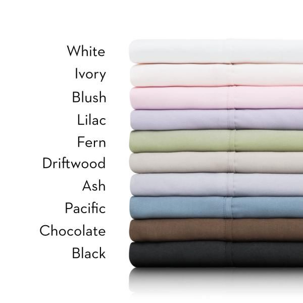 Malouf Microfiber Sheets SPLIT CK BLUSH