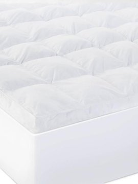 "Malouf 3"" DOWN ALTERNATIVE MATTRESS TOPPER"