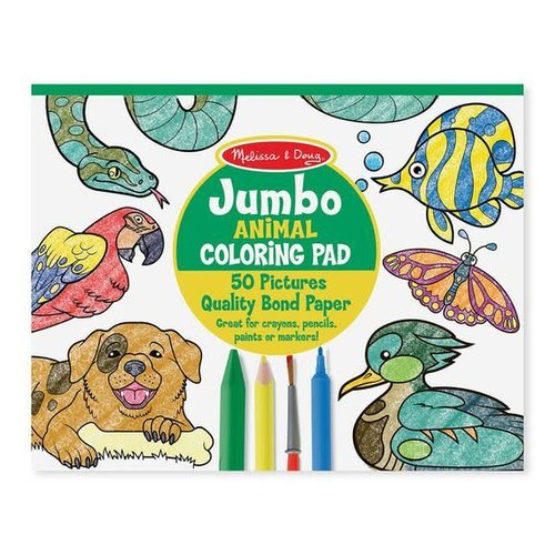 *Jumbo Coloring Pad Animal