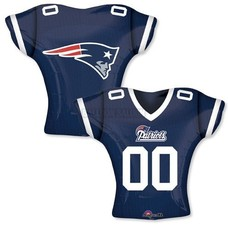 *New England Patriots Jersey Mylar Balloon