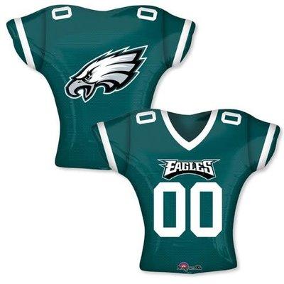*Philadelphia Eagles Jersey Shape Mylar Balloon