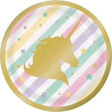 *Unicorn Sparkle 7in Plate