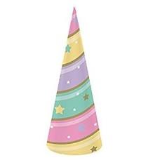 *Unicorn Sparkle Cone Hats
