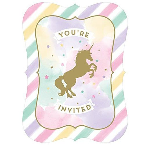*Unicorn Sparkle Invitation