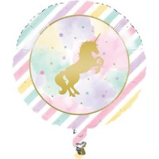 *Unicorn Sparkle Mylar Balloon