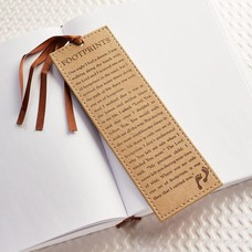 Bookmark Footprints