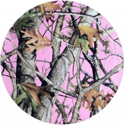 "Pink Mossy Oak 9"" plates"