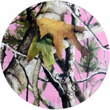 "Pink Mossy Oak 7"" plates"