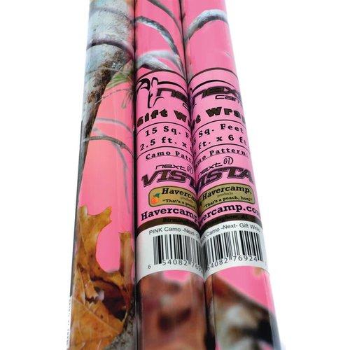 Pink Mossy Oak Roll Wrap