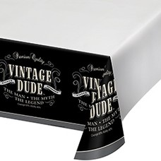 *Vintage Dude Tablecover