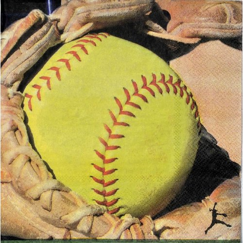 *Softball Lunch Napkins