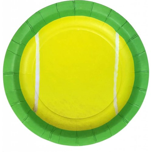 "*Tennis Party 7"" Dessert Plates 8ct"