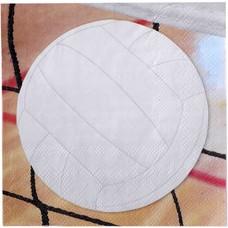 Volleyball Beverage Napkin