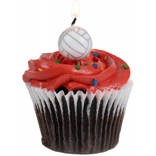 *Volleyball Candles 5ct