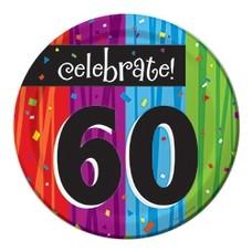 "*Milestone 60 Dessert 7"" Plates"