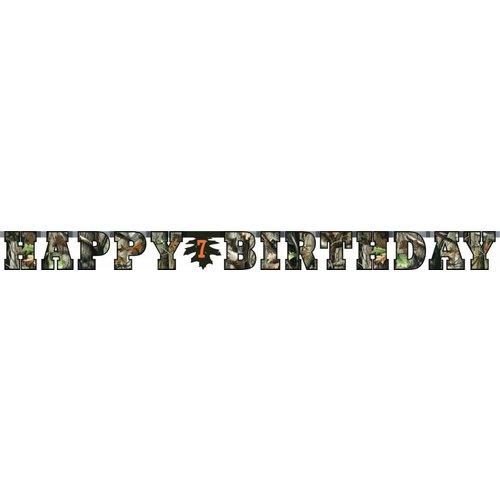 Mossy Oak Birthday Banner