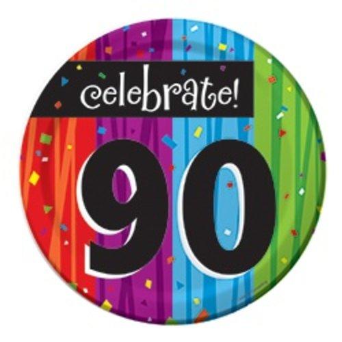 "*Milestone 90 Dessert 7"" Plates"