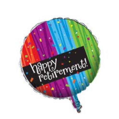 *Happy Retirement Milestone Mylar Balloon
