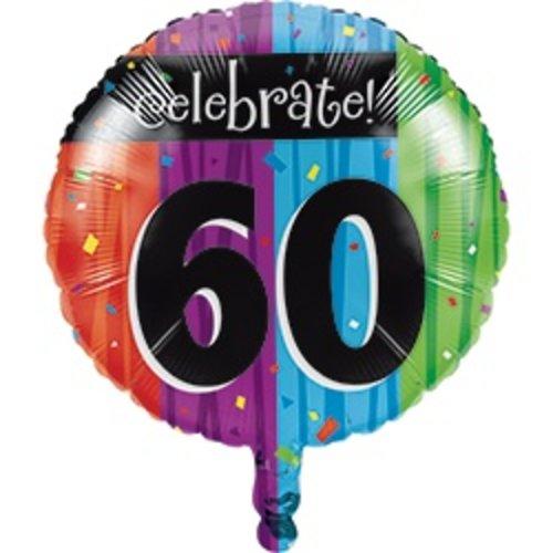 *Milestone 60 Mylar Balloon