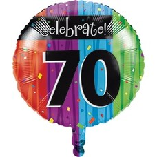 *Milestone 70 Mylar Balloon