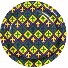 Mardi Gras 7in Plate