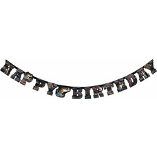 Gone Fishing Birthday Banner