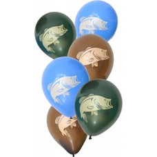 Gone Fishin' Latex Balloons