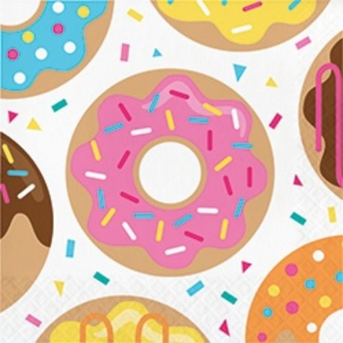 *Donut Time Lunch Napkins