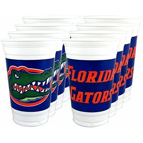 *University of Florida Plastic 16oz Cups 8ct