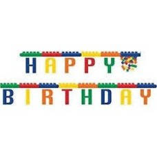 *Block Party Birthday Jointed Banner