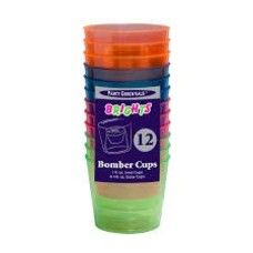 *Bomber Cups 12ct Neon Assorted Colors