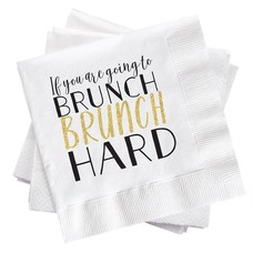 Brunch Hard Cocktail Napkin