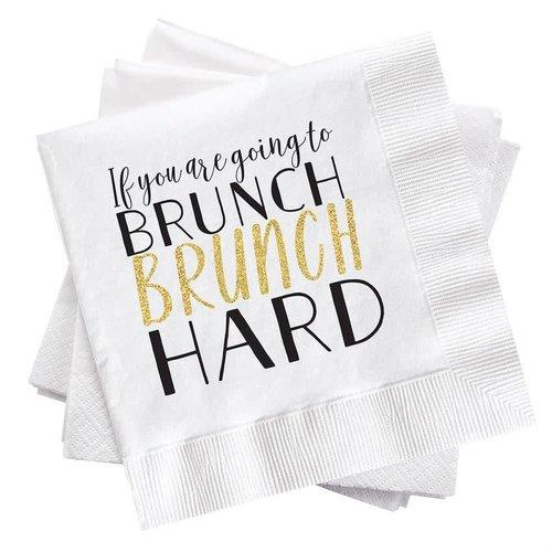 Brunch Hard Cocktail Napkin
