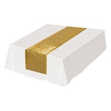 Gold Sequined Table Runner