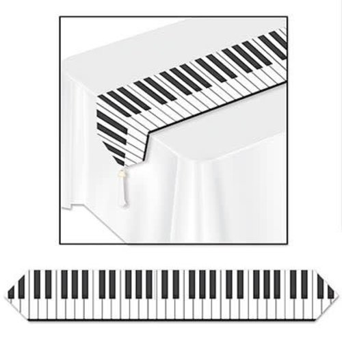 Musical Note Table Runner