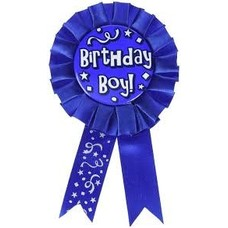 *Birthday Boy Blue Award Ribbon